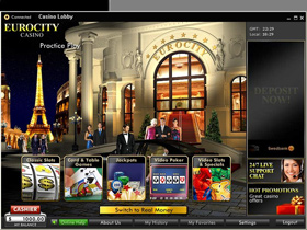 Euro City Casino Review